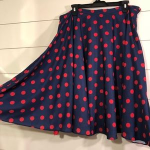 Bea & Dot ModCloth Circle Retro Skirt Rockabilly